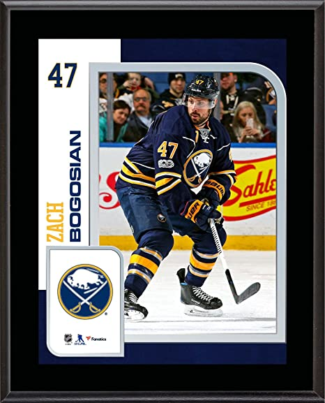 0b1b42209 Image Unavailable. Image not available for. Color  Zach Bogosian Buffalo  Sabres 10.5 quot  x 13 quot  Sublimated ...