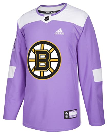 Boston Bruins Adidas NHL Hockey Fights Cancer Men s Authentic Practice  Jersey 01515df74