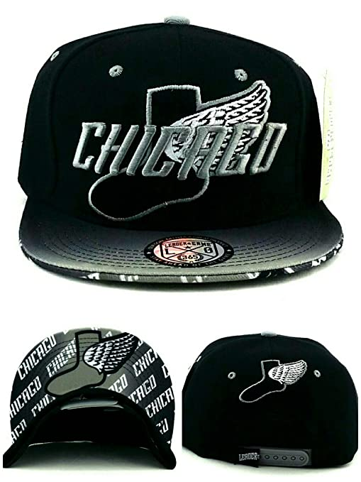 Chicago New Leader - Gorra con alas para niños, color blanco y ...