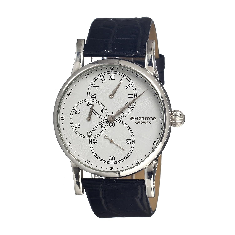 Heritor Automatic herhr1101 – Armbanduhr - Lederband schwarz