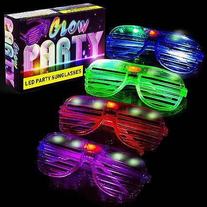 Amazon.com: Gafas LED A3 con diseño de gafas y favoritos de ...