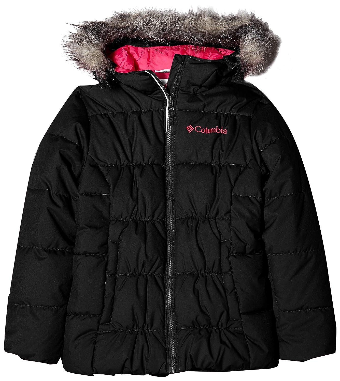 noir, Cactus rose M Columbia Gyroslope veste Veste de ski Fille