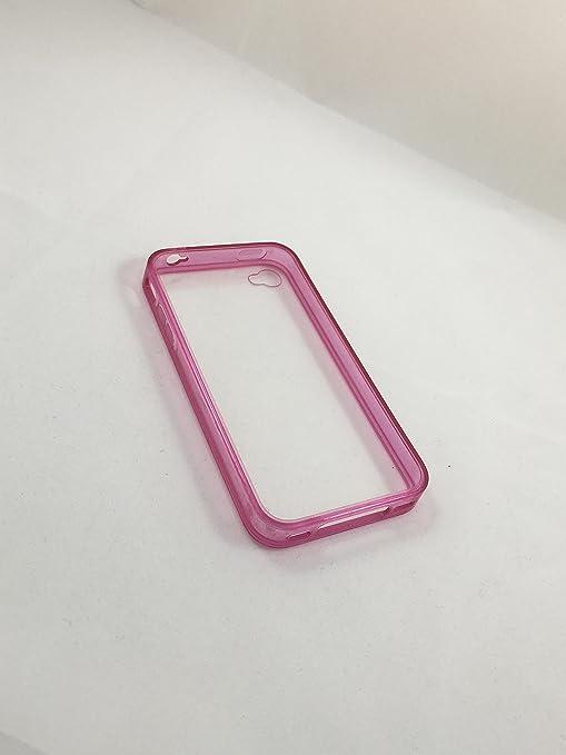 cogac Funda Carcasa Bumper para iPhone 4 Y 4S TRASLUCIDO ...