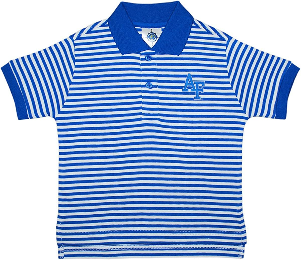 Creative Knitwear Air Force Academy Falcons Striped Polo Shirt