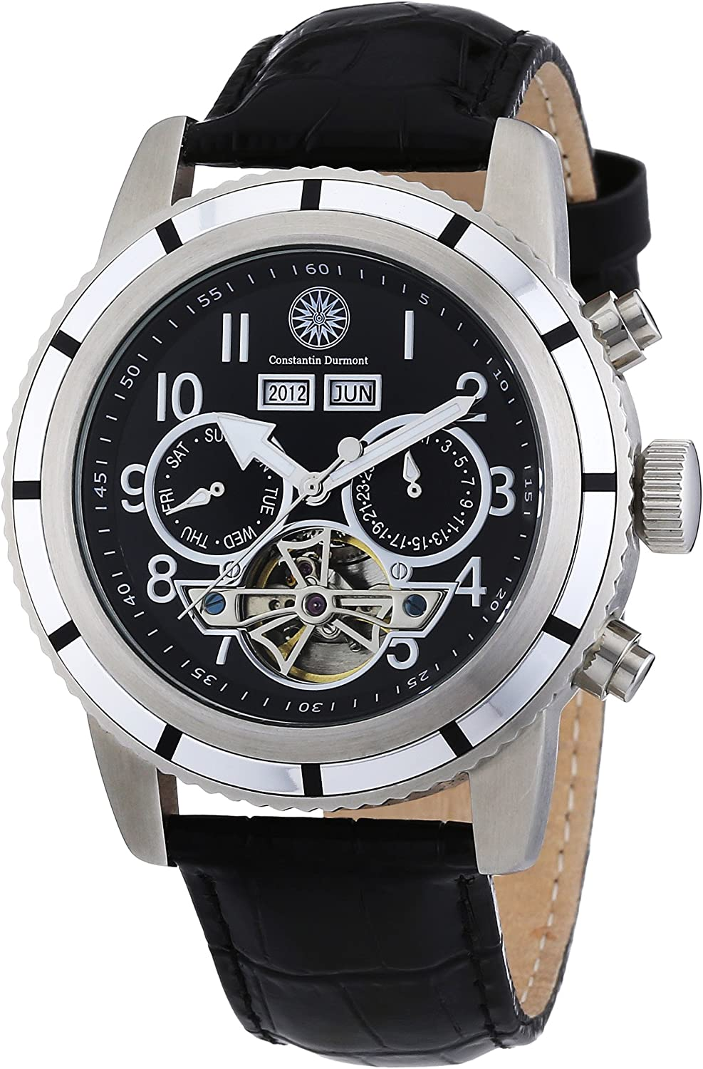 Constantin Durmont CD-PUEB-AT-LT-STSL-BK - Reloj analógic