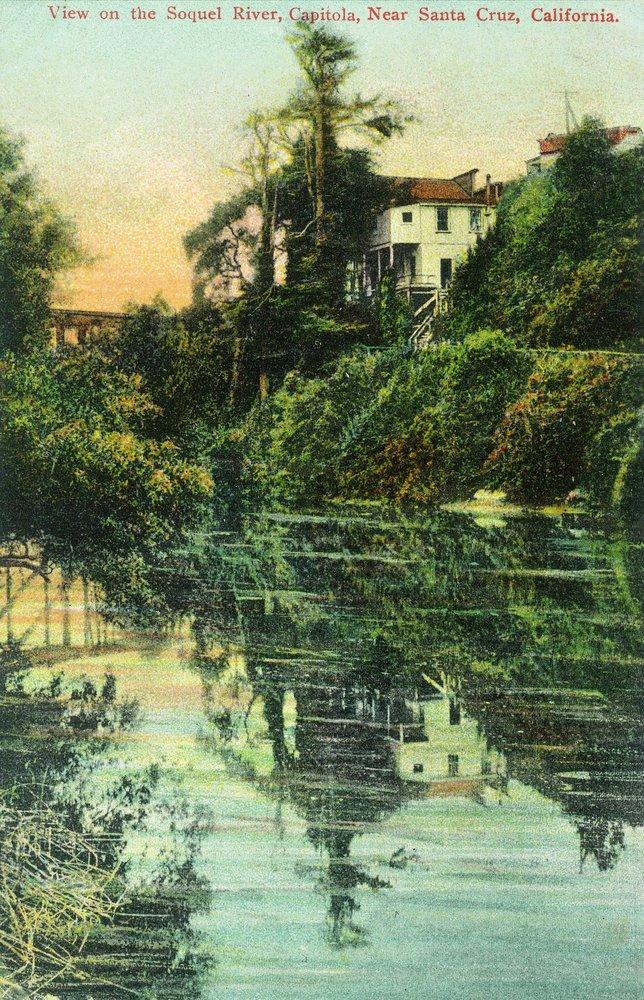 Capitola、カリフォルニア – Scenic View on the Soquel川 24 x 36 Giclee Print LANT-12170-24x36 B017ZJR70Y  24 x 36 Giclee Print