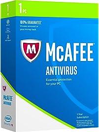 McAfee 2017 AntiVirus -1 PC [Keycode]