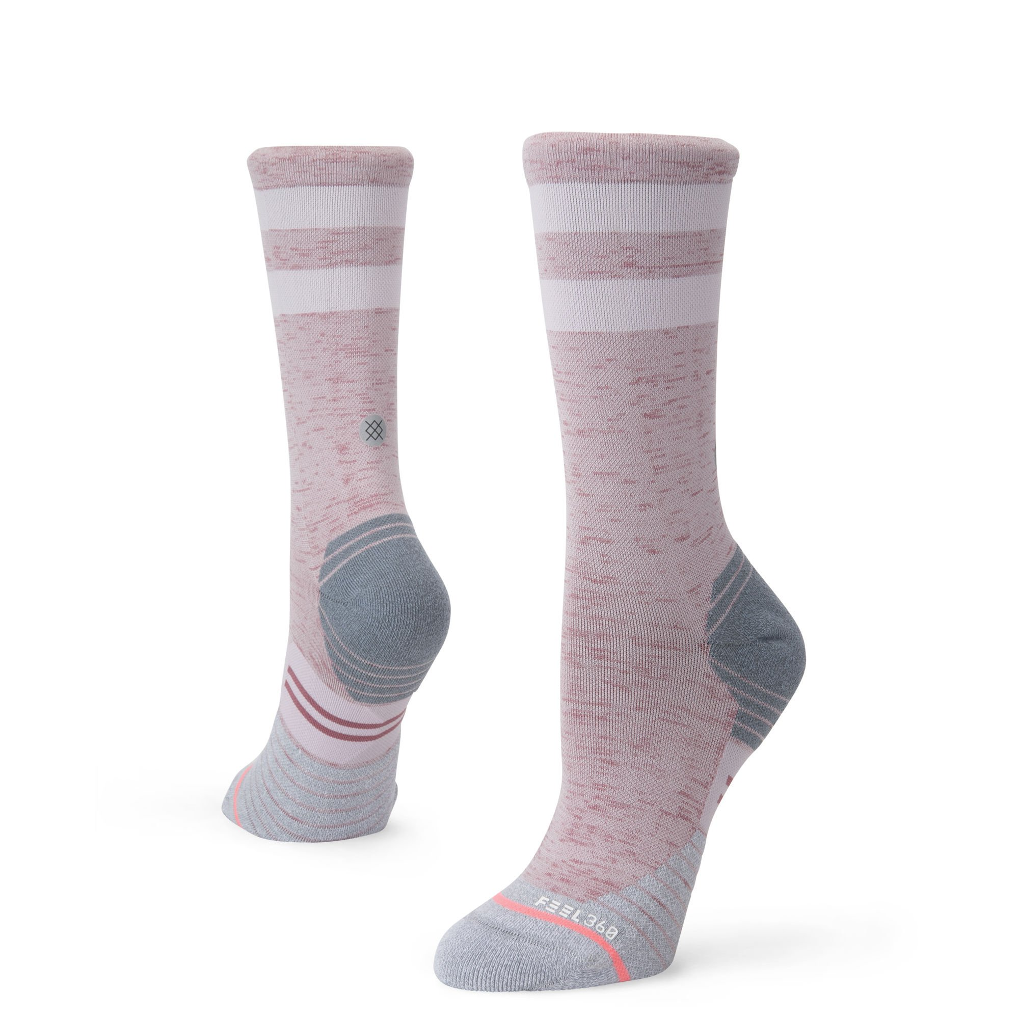 Stance Distance Crew Sock - Women's Grey Medium