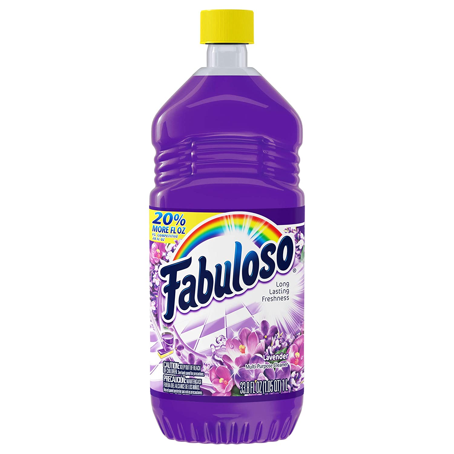 Fabuloso All-Purpose Cleaner, Lavender - 33.8 Fluid Ounce