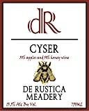 NV De Rustica Meadery Cyser Mead 750 mL