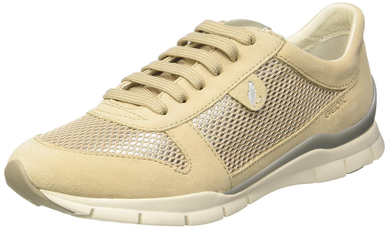 Geox D Sukie a, Zapatillas para Mujer 40 EU|Beige (Skinc8182)