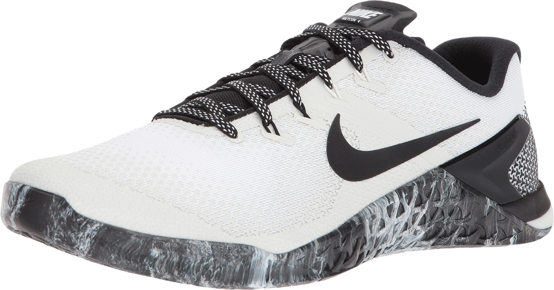5f3daf456ca78 Nike Men's Metcon 4 Training Shoes (9.5, White/Black-M)