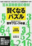 賢くなるパズル 数字ブロック 中級 (宮本算数教室の教材)