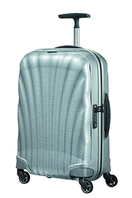 94027e53d38749 Samsonite Hand Luggage, 55 cm, 36 Liters, Silver: Amazon.co.uk: Clothing