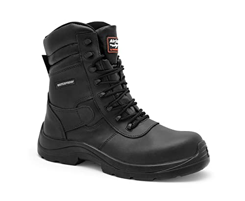 AIRSAFE AS-C8 - Botas de seguridad impermeables , color negro, talla