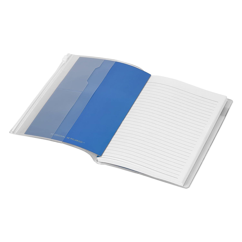 Polaroid pol097 funda con cremallera portátil - azul: Amazon.es: Oficina y papelería
