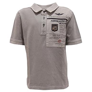 Aeronautica Militare - Polo - para niño gris 116 cm: Amazon.es ...