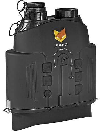 Nightfox 110R - Prismáticos de visión Nocturna con Pantalla panorámica | Infrarrojo Digital | Rango de