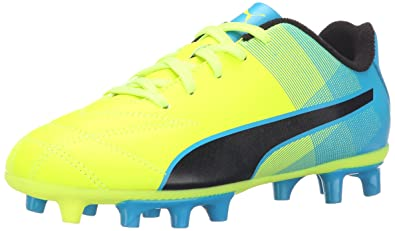 PUMA Adreno II FG Jr Soccer Shoe (Little Kid/Big Kid),Safety