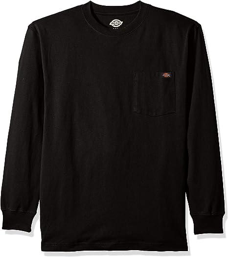 Men BigBoy 4-Pack Premium Casual Sport Work Cotton Long Sleeve Crew Neck T-Shirt Sweatshirt