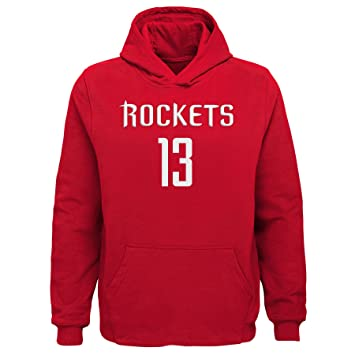 735f81f7156  Outerstuff Boys James Harden Huston Rockets  13 Name and Number Fleece  Hoodie