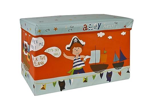 6 opinioni per Pusher Pirata Scatola delle Meraviglie, Plastica, Multicolore, 34X74X4 Cm