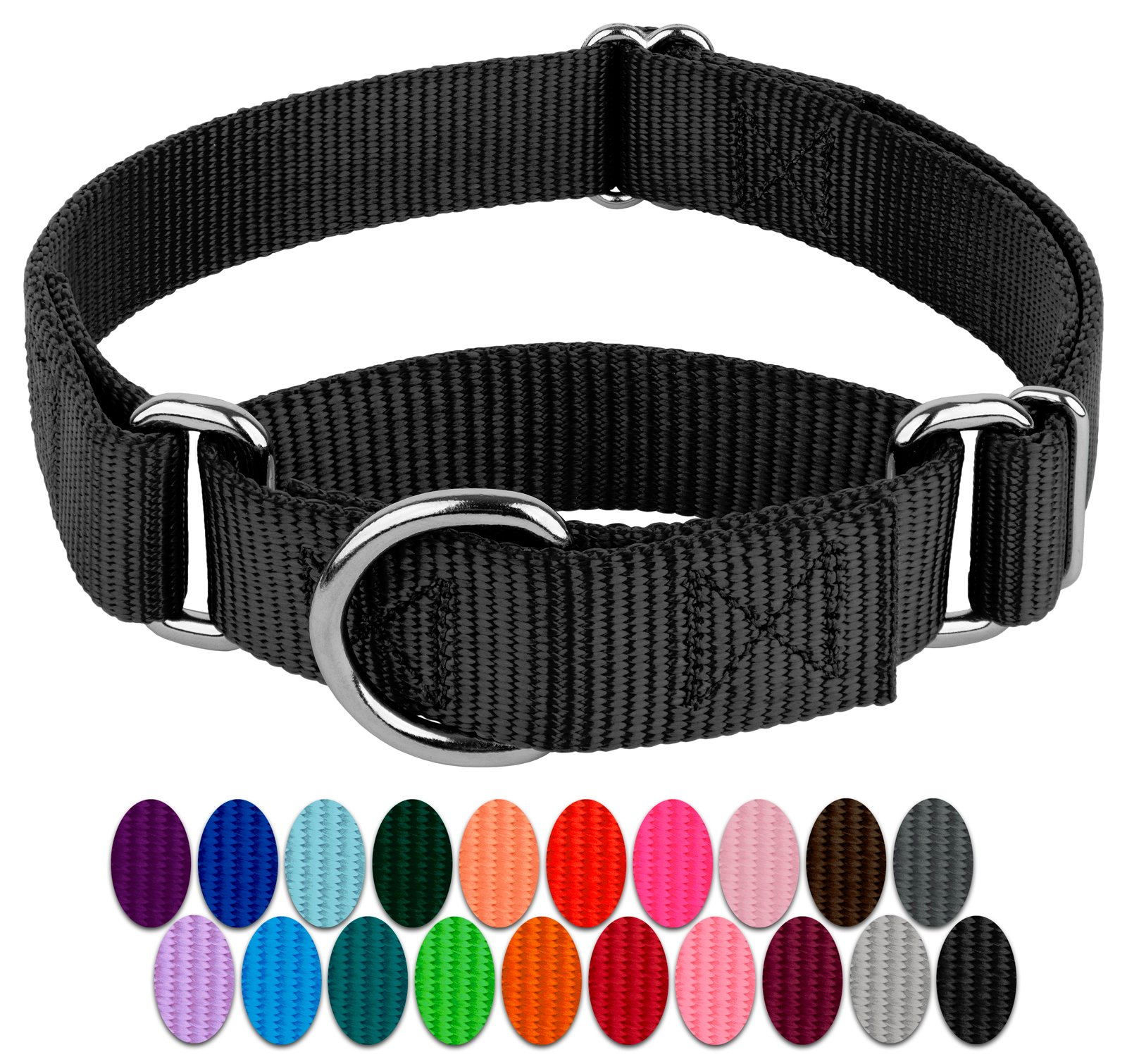 c92e49af03 Country Brook Design | Martingale Heavyduty Nylon Dog Collar product image
