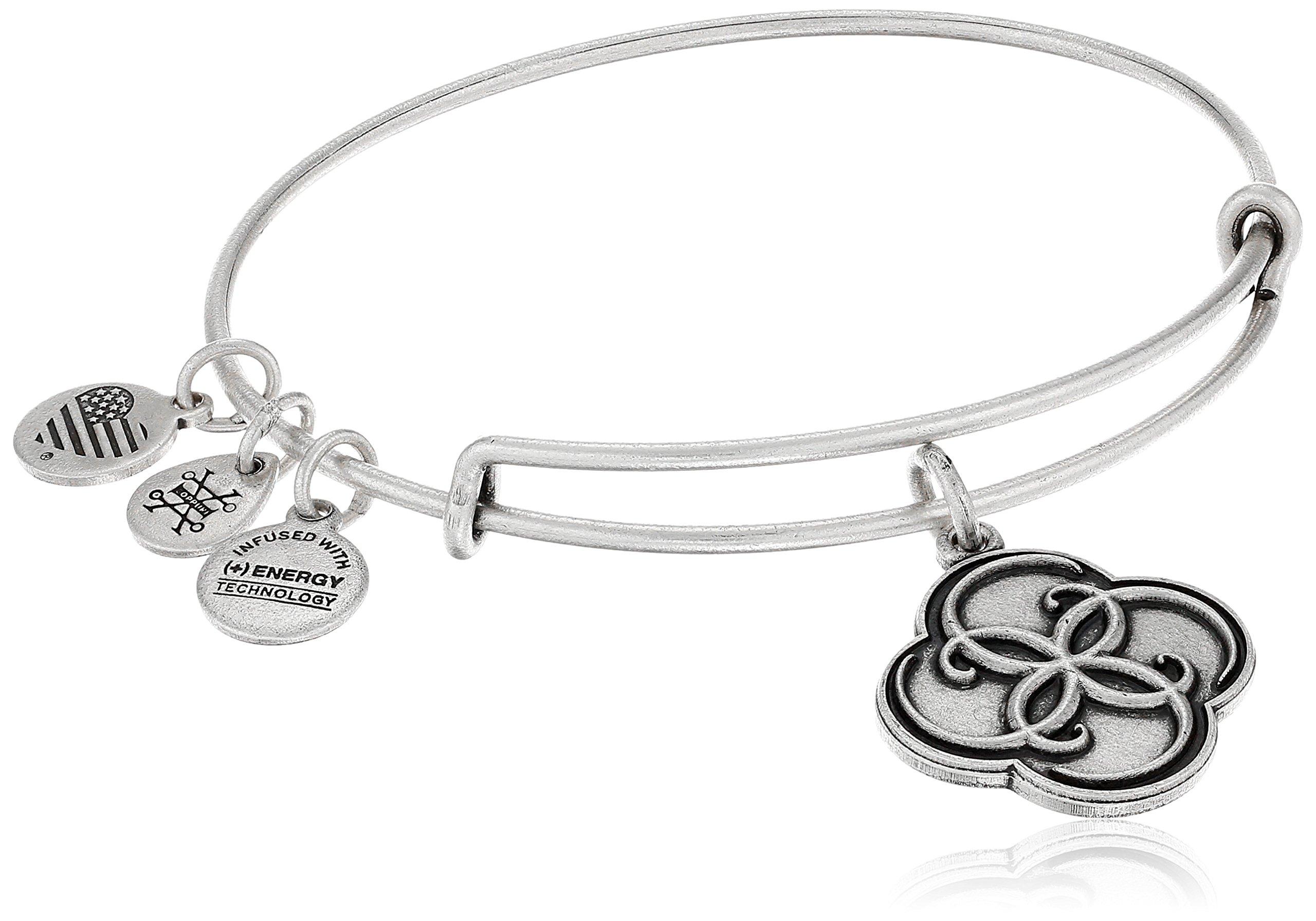 Alex and Ani Breath of Life Rafaelian Silver Bangle Bracelet