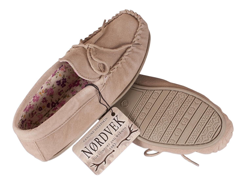 Nordvek # # # 419-100, Pantofole donna Cammello 610cb9