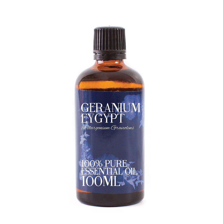 Mystic Moments - Aceite esencial de geranio de Egipto, 100 ml, 100% puro