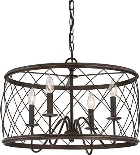 Quoizel RDY2821PN Dury Cage Pendant Lighting