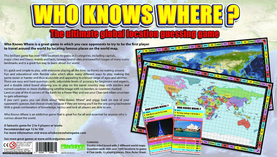 Who knows where the global location guessing board game amazon the global location guessing board game amazon toys games gumiabroncs Image collections