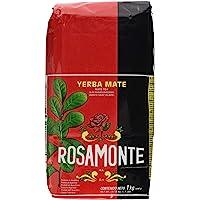 Rosamonte - Yerba mate (con tallos), 2 kg