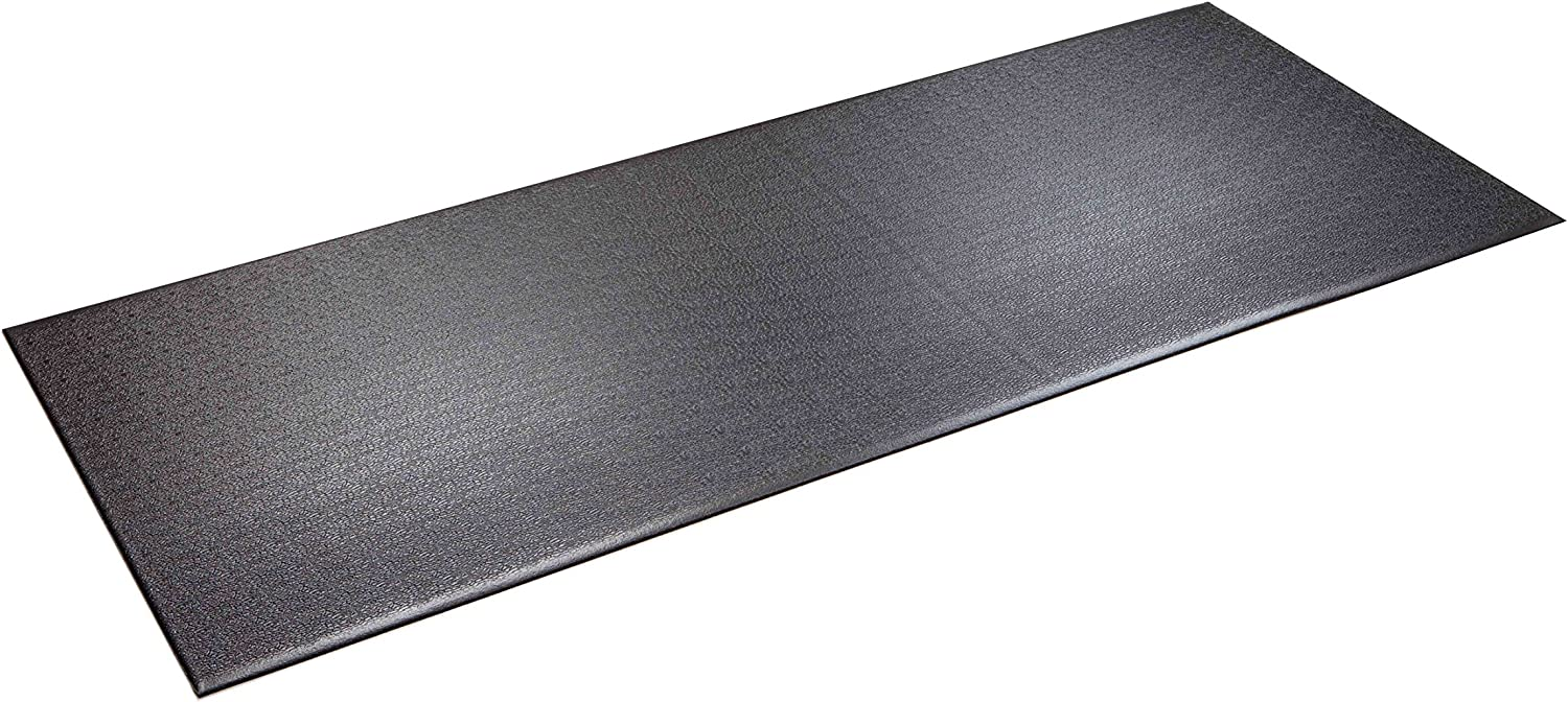 """SuperMats Heavy Duty Equipment Mat 12GS Made in U.S.A. for Treadmills Ellipticals Rowing Machines Recumbent Bikes and Exercise Equipment (3-Feet x 7.5-Feet) (36"""" x 90"""") (91.44 cm"""