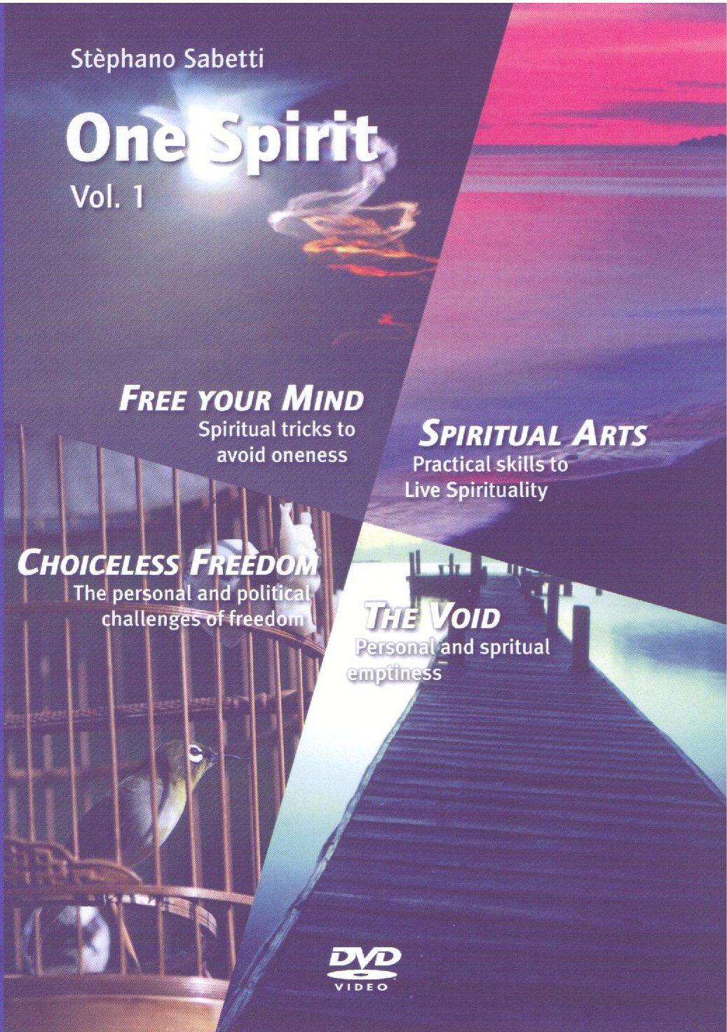 Download One Spirit - Volume 1: Free Your Mind/Spiritual Arts/Choiceless Freedom/The Void (NTSC) pdf epub