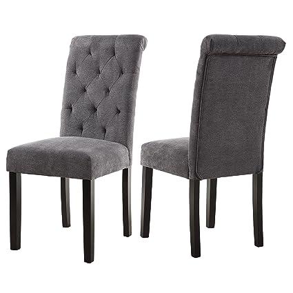 amazon com lssbought stylish dining room chairs with solid wood rh amazon com stylish dining room table chairs Colorful Dining Room Chairs