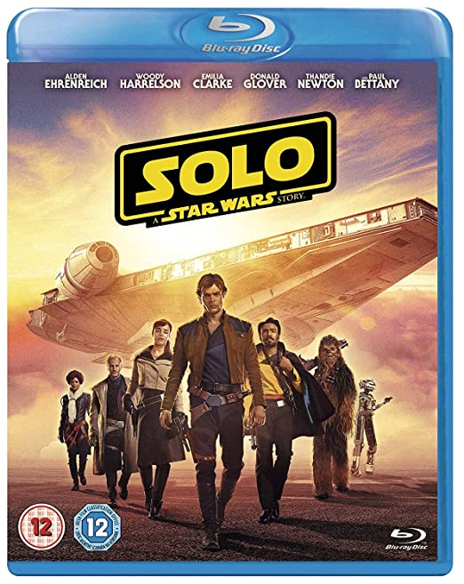 Solo: A Star Wars Story [Blu Ray] [2018] [Region Free] by Amazon
