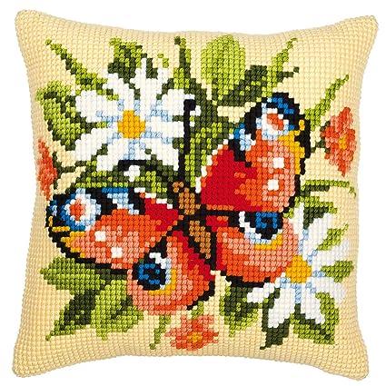 Amazon.com: Vervaco 1200/642 pavo real flores y mariposas ...