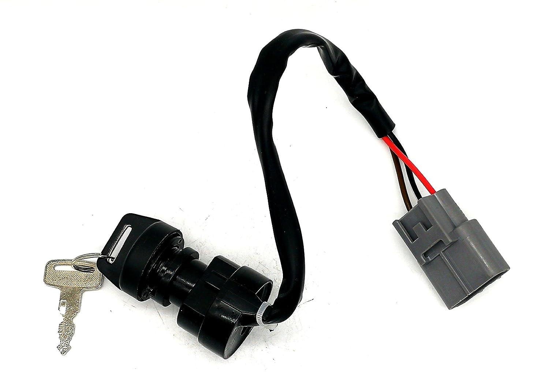 Loofu Ignition Switch Key for Yamaha GRIZZLY 700 YFM700 4X4 FI 2009-2017