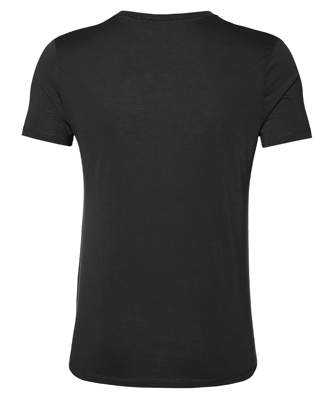 Balance Black talla del fabricante: 2XL Asics Graphic SS Top Camiseta Negro Hombre