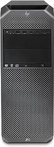 HP 2WZ67UT Workstation Z6 G4 - MT - 4U - 1 x Xeon Silver 4114/2.2 GHz - RAM 8 GB - HDD 1 TB - DVD-Writer - no Graphics - GigE