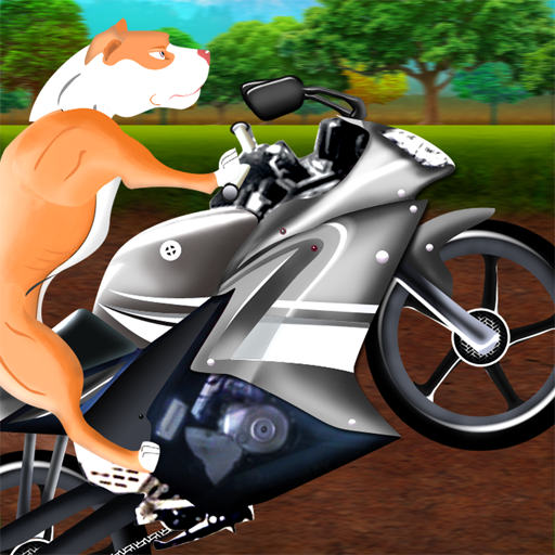 Rolling Wild Dog Motorcycle Race : The Bad to the bone Adventure - Free Edition