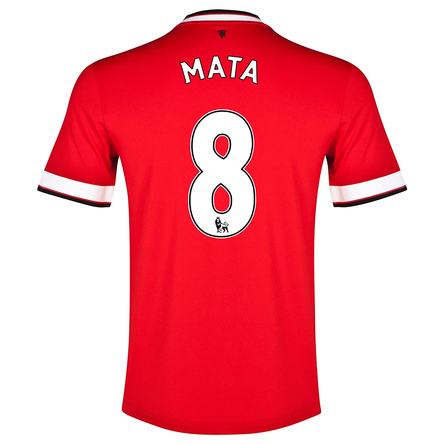 Manchester United Home 2015-16 Jersey with Mata 8 Printing