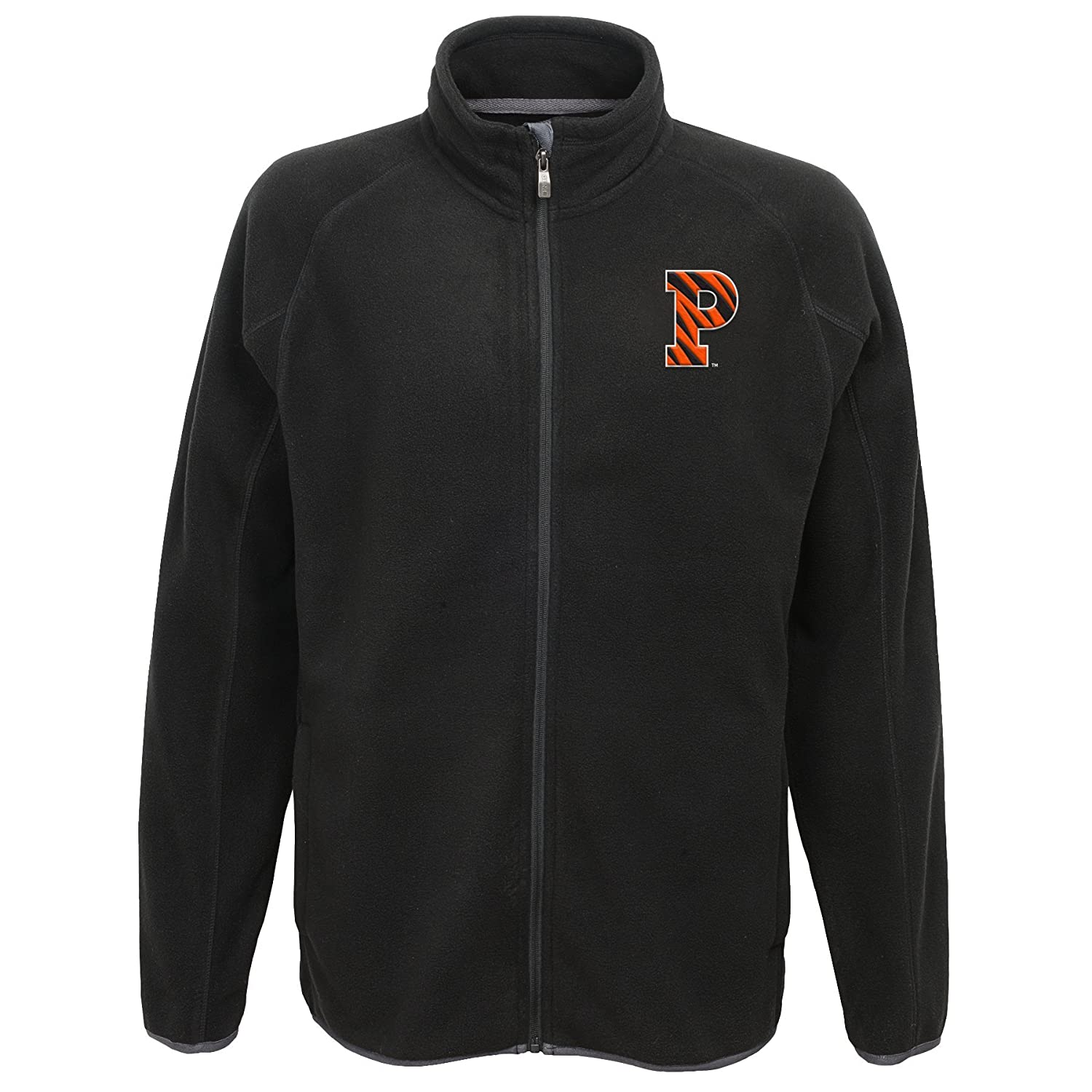 Black Large NCAA Princeton Tigers Mens  Outerstuff Scrimmage Full Zip Jacket