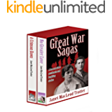 THE GREAT WAR SAGAS: Box set of 2 passionate and inspiring stories: A Crimson Dawn and No Greater Love