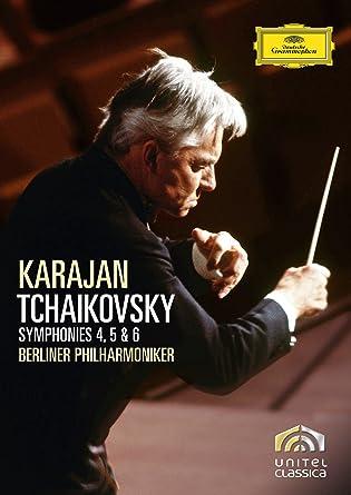チャイコフスキー:交響曲第4番、第5番、第6番《悲愴》 [DVD]