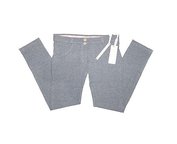 b5e2eb9d7cd Freddy WR.UP Women's Authentic Dark Melange WRUP1L1E-H4 Low Waist Size  Large at Amazon Women's Jeans store