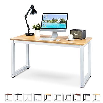 Luxxetta - Escritorio para ordenador de oficina - 139,70 x 58,42 ...
