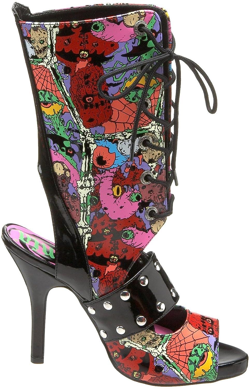 PLEASER ZOM102/B - Botín Mujer - Estampado: Amazon.es: Zapatos y complementos
