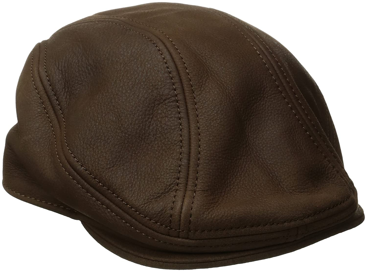 Stetson mens Oily Timber Leather Ivy Cap Brown Small/Medium STW515